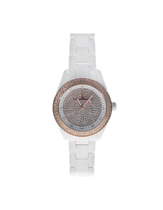 TOYWATCH Velvety White Full Pave Allover
