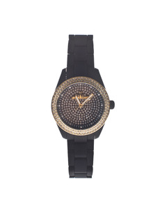 TOYWATCH Velvety Black Full Pave Allover