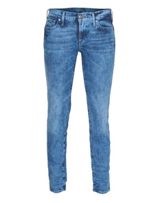 TRUE RELIGION Chrissy Midrise Super Skinny Shadow