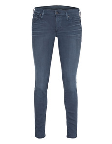 TRUE RELIGION Chrissy Mid Rise Super Skinny Rover Drift