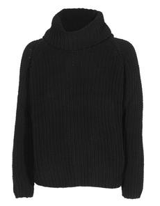 TRUE RELIGION Turtle Boxy Sweater Black