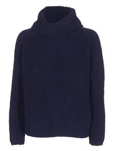 TRUE RELIGION Turtle Boxy Sweater Blue