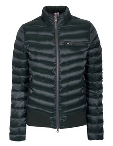 TRUE RELIGION Bomber Light Midnight Green