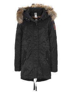 TRUE RELIGION Deluxe Fur Black