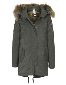 TRUE RELIGION Deluxe Fur Olive