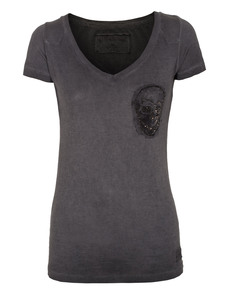 TRUE RELIGION Slim Skull V Jet Black