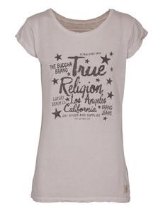 TRUE RELIGION Stars Crew Relax Silver