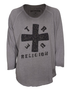 TRUE RELIGION Baseball Cross Castle Rock