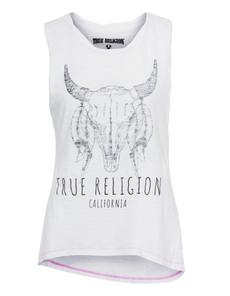 TRUE RELIGION Longhorn White