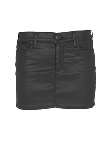 TRUE RELIGION Mia High Tigh Coated OIl Slick Black