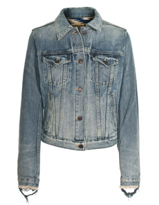 DENIM & SUPPLY by Ralph Lauren Trucker Denim Blaine Wash