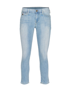TRUE RELIGION Serena Crop Skinny Moments Notice