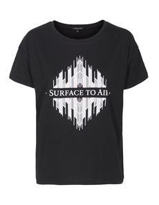 Surface To Air Logo Structure Black