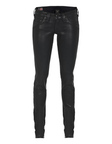 TRUE RELIGION Casey Coated Black