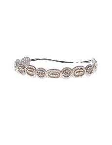Deepa Gurnani Rich Circle Silver