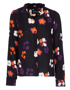 ZADIG&VOLTAIRE Floral Tuck Black