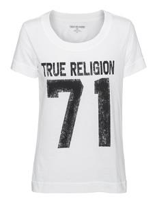 TRUE RELIGION 71 Graphic Realxed White