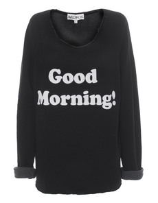 WILDFOX Good Morning Clean Black
