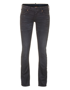 TRUE RELIGION Jude Skinny Asphalt Black