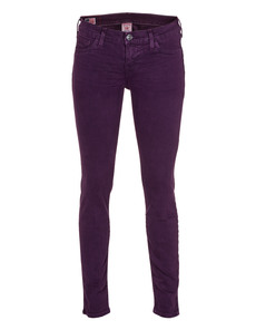 TRUE RELIGION Casey Overdye Bottoms ACB Plum