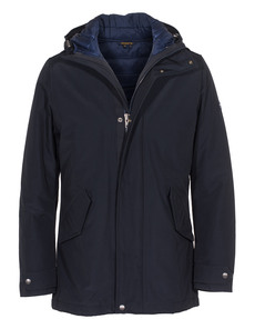 WOOLRICH Long Military Eskimo Dark Navy