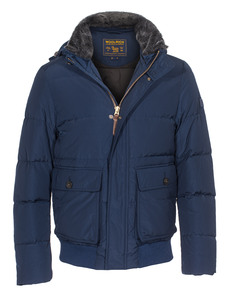 WOOLRICH Pocono Bomber Blue