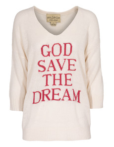 WILDFOX God Save The Dream Vintage Lace