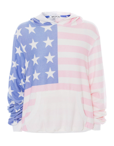 WILDFOX Miss America Malibu Long American Flag