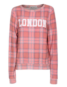 WILDFOX London Plaid Baggy Beach Multi