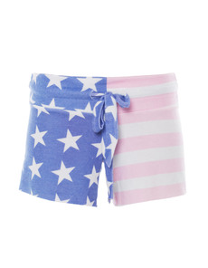 WILDFOX Miss America Malibu Short American Flag