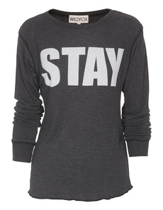 WILDFOX Stay Chalet Thermal Grey