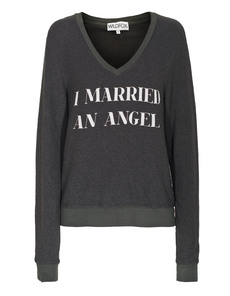 WILDFOX I Married An Angel Vintage Black