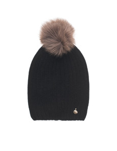 WOOLRICH W's Cashmere Hat Black