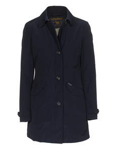 WOOLRICH W's Travel Coat Blue