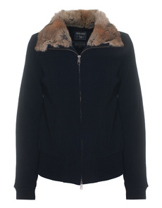 WOOLRICH W`s Wool Cotton Track Blue