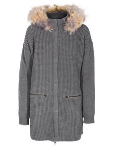 WOOLRICH W'S Fur Fog Grey