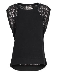 Pam&Gela Black Crochet Lace