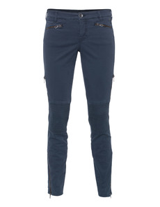 G DESIGN Biker Slim Zip Navy
