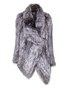 YVES SALOMON Fox Glam Light Grey