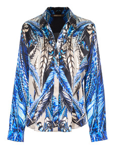 ROBERTO CAVALLI Bright Feather Blue