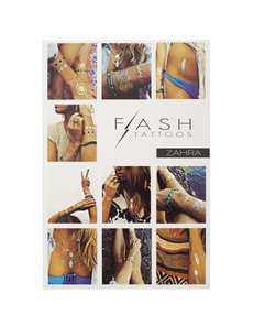 FLASH TATTOOS Zahra Romantic Chic