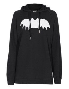 ZOE KARSSEN Bat Hooded Black