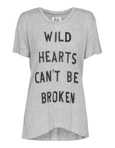 ZOE KARSSEN Wild Hearts Heather Grey