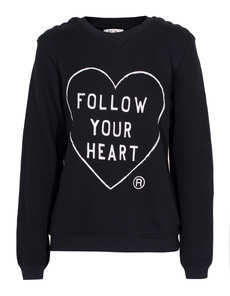 ZOE KARSSEN Follow Your Heart Black