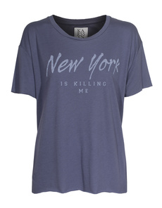 ZOE KARSSEN New York Is Killing Me Grisaille