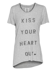 ZOE KARSSEN Kiss Your Heart Out Heather Grey