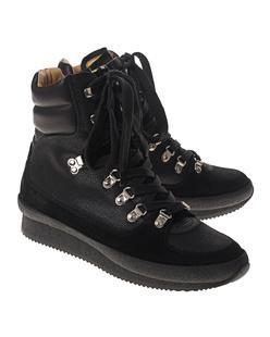 Isabel Marant Étoile Brendty Hiking Boots Black