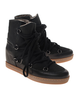 Isabel Marant Étoile Nowles Snowboots Black