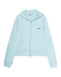 TEKIN Zipper Hood Logo Aquamarine