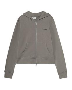 TEKIN Zipper Hood Logo Charcoal